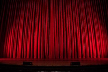 vida no palco